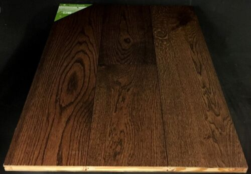 Mocha Green Touch White Oak Wirebrushed Engineered Hardwood FLooring 1 1