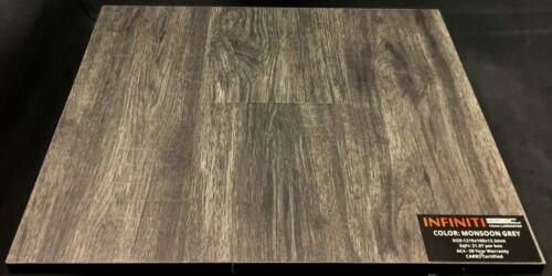 Monsoon Grey 12.3mm Infiniti Laminate Flooring