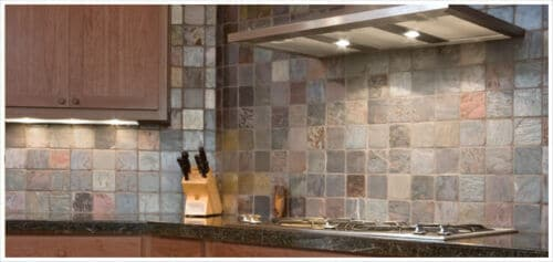 Multi Color Slate Tile Anatolia Tile Squarefoot Flooring 1