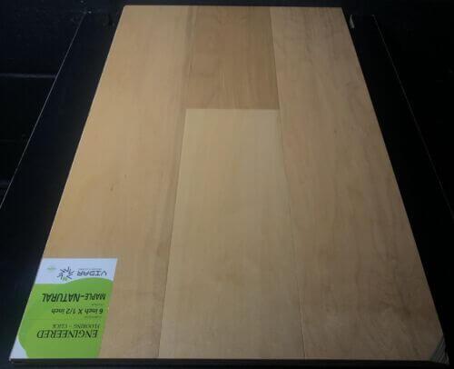Vidar Maple Engineered Hardwood Flooring
