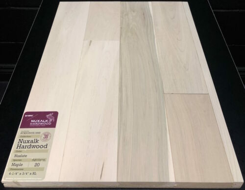 NSULATE NUXALK MAPLE HARDWOOD FLOORING