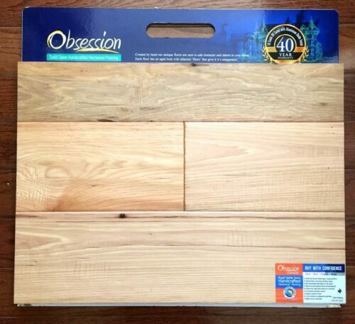 Natural 13458 Obsession Hickory Engineered Hardwood Flooring (T/G)