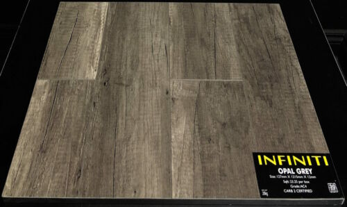 OPAL GREY 12.3mm INFINITI LAMINATE FLOORING