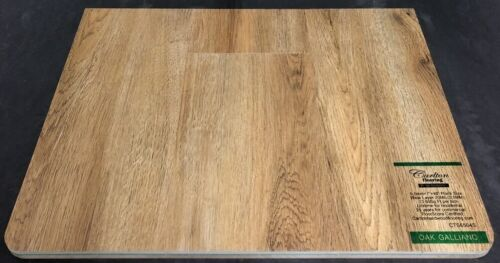 Oak Galliano 6.5mm Vinyl Flooring Underpad Attached Carlton Flooring Prime Collection