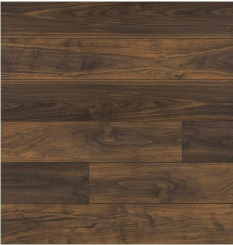 PASADENA WALNUT 41051 PRECIOUS HIGHLANDS INHAUS LAMINATE FLOORING 1
