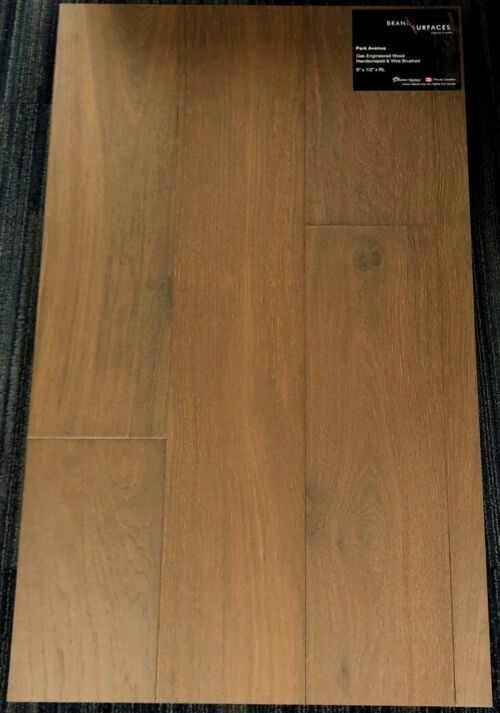 Park Avenue Brand Surfaces Oak Handscraped Engineered Hardwood Flooring 1