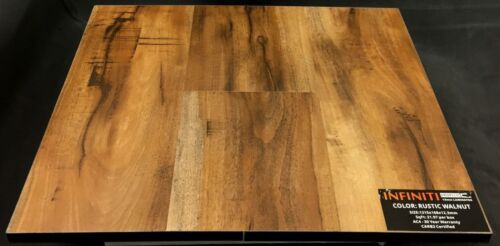 Rustic Walnut 12.3mm Infiniti Laminate Flooring