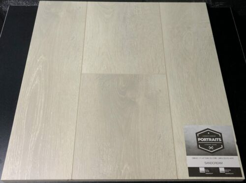 SANDCREAM PORTRAITS LAMINATE FLOORING 12MM