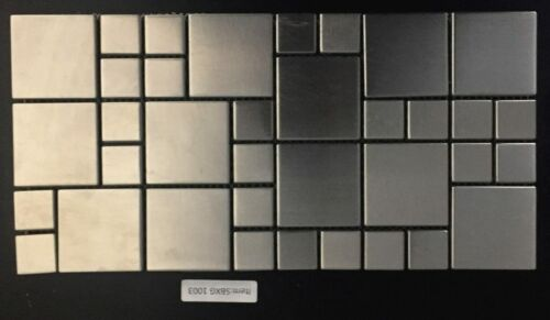 SBXG 1003 Stainless Steel Mosaic Backsplash