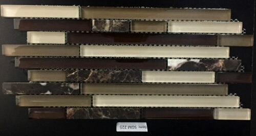SGM 225 Glass and Stone Mosaic Backsplash