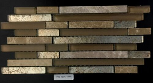 SGM 244 Glass and Stone Mosaic Backsplash