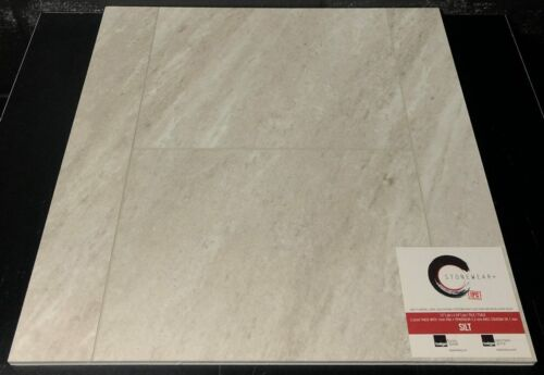SILT 5.2MM STONEWEAR+ SPC VINYL TILE FLOORING 12X24 WITH PAD