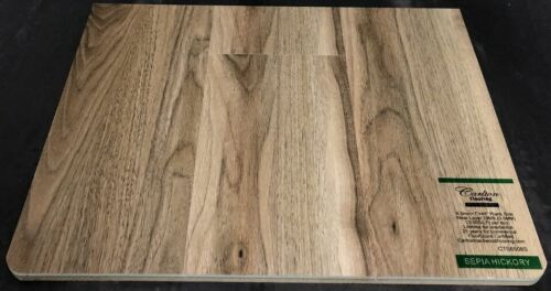 Sepia Hickory 6.5mm Vinyl Flooring Underpad Attached Carlton Flooring Prime Collection.