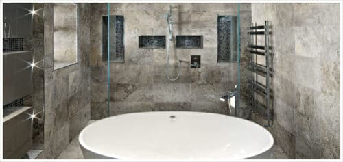 Silver Ash Travertine Tile Anatolia Tile Squarefoot Flooring 1