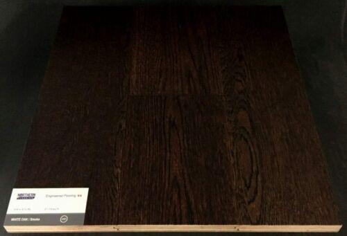 Smoke Northern White Oak Wire Brush Engineered Hardwood Flooring (T/G)