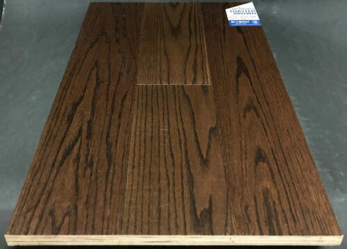 Toasted Brown Biyork Red Oak Engineered Hardwood Flooring