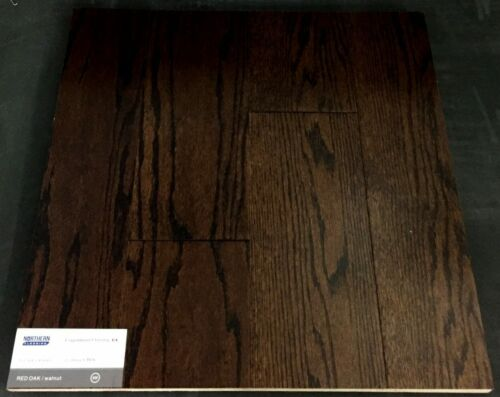 Walnut Northern Red Oak Engineered Hardwood Flooring (Click)