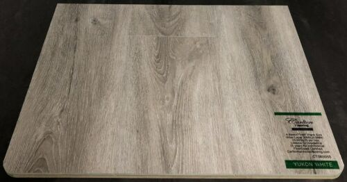 Yukon White 6.5mm Vinyl Flooring Underpad Attached Carlton Flooring Prime Collection.