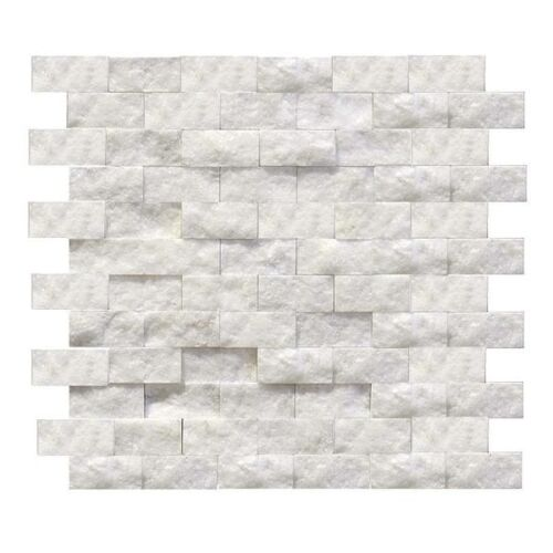 1X2 CARRERA MARBLE SPLIT-FACE WALL CLADDING LEDGERSTONE