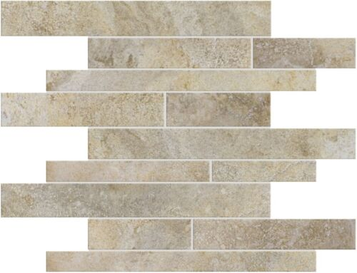 BEIGE 63 183 PORTOFINO RANDOM STRIP PORCELIAN MOSAICS scaled 1
