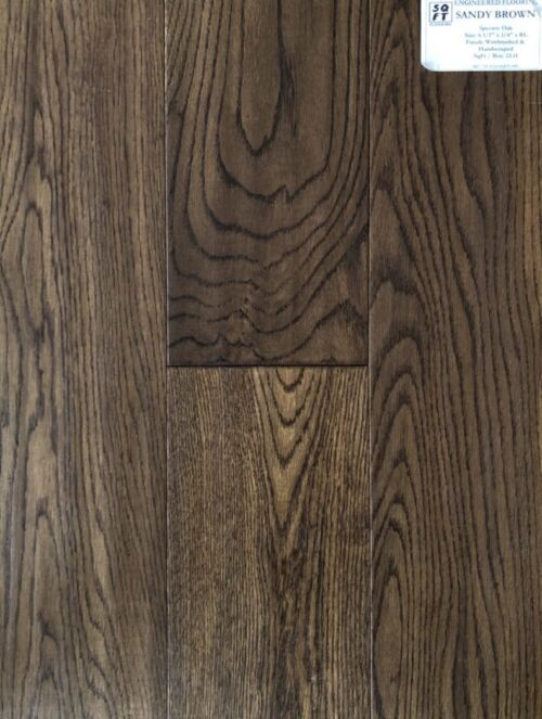 SANDY BROWN OAK ENGINEERED HARDWOOD FLOORING scaled 1