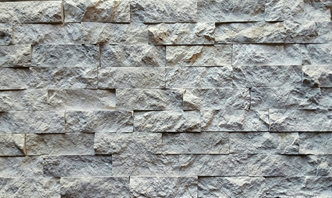 6X12 VALENSA GREY MARBLE SPLIT-FACE WALL CLADDING LEDGERSTONE
