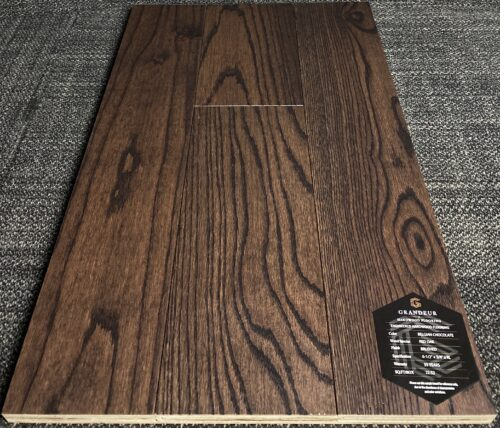 BELGIAN CHOCOLATE GRANDEUR OAK ENGINEERED HARDWOOD FLOORING
