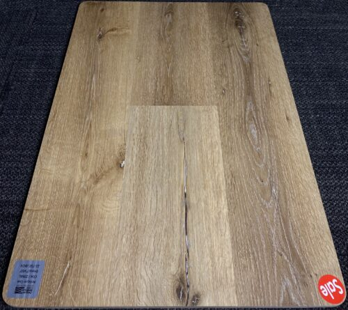ANTIQUE OAK C04 CARLTON AQUA SHIELD 6MM VINYL FLOORING PAD ATTACHED