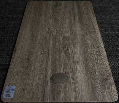 SMOKE PARCHMENT ES011 CARLTON EMBASSY 8MM VINYL FLOORING PAD ATTACHED