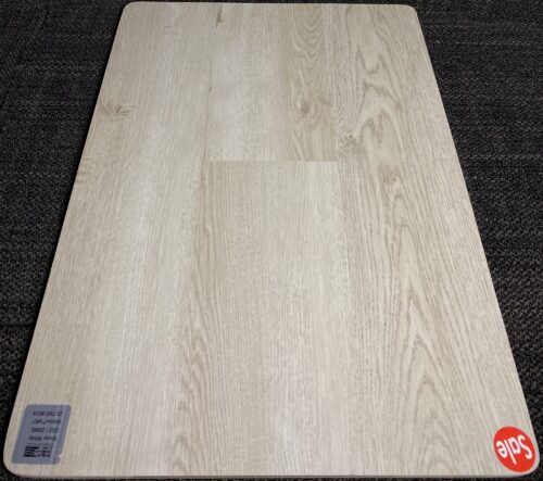 SNOW WHITE C02 CARLTON AQUASHIELD 6MM VINYL FLOORING PAD ATTACHED