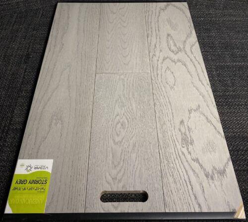 STORMY GREY Vidar American Oak Engineered Hardwood Flooring