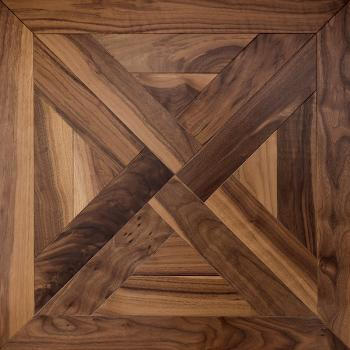 Trianon American Walnut Traditional Coswick Engineered Hardwood Flooring